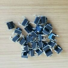 25pcs - New 6x6x5mm Momentary Tactile Push Switch DIP Button 4 Pins