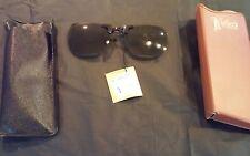vintage Cool-Ray Polaroid clip-on sunglasses Kiefer's St Louis MO