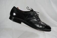 FootJoy Classics USA Black Leather Brogue Wingtip Oxfords Mens Size US 12 D
