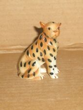 Cheetah Figurine/ bone china