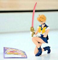 Sailor Uranus gashapon figure Sailor Moon World figurine vintage Bandai Japan