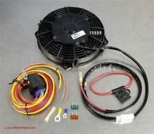 PORSCHE 911 930 Oil Cooler Fan Set Auxiliary Right Front Fender Carrera Radiator
