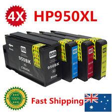 4x HP ink Cartridge 950XL 951XL Genuine For officejet pro 8600 8610 8100 8620