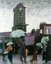 Rainy Day  by Lyonel Feininger   Giclee Canvas Print Repro
