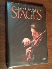 Jaime Jorge: Stages (DVD) christian violin instrumental concert live music NEW