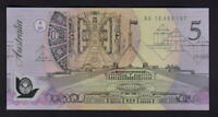 Australia R-214. (1992) Fraser/Cole - 5 Dollars.. Prefix AA 12..  UNC