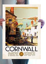 Cartel vendimia viajes-Cornwall langosta pot-A2