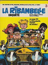 LA RIBAMBELLE n°5. La ribambelle enquête. Dupuis EO 1984