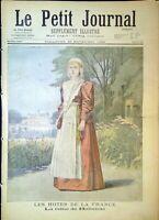 Le Petit Journal N°315 du 29/11/1896 La Reine de Hollande, Mise en liberté des..
