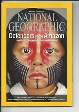 "NATIONAL GEOGRAPHIC ""DEFENDERS OF THE AMAZON"" JANUARY 2014"