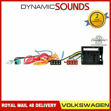 CT20VW02 Radio Wiring Harness with Aerial Adaptor For Audi Seat Skoda Volkswagen