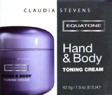 Claudia Stevens Equatone Hand & Body Toning Cream 1x42.5g Skin/Lotion/Toner/NEW