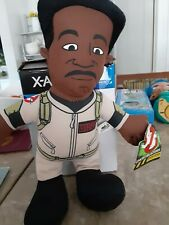 Ghostbusters Vintage Winston Zeddemore Plush Buddy Doll 2011 Collective 14 inch