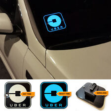 Uber Light up Led Light Sign Bright Glowing Car Logo Wireless UBER  Signs