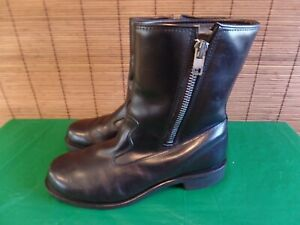 Vintage McRae Process 82 insulated Leather Boots  Black dress boots Men's 12D