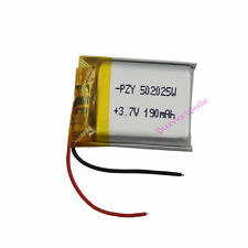 3.7V 190 mAh Polymer Li ion battery Lipo For Mp3 Bluetooth headset pen  502025