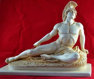Achilles greek statue figure BIG SIZE 12.5 x 17,5 inch free shipping - Tracking
