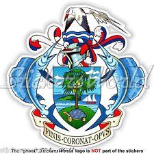 SEYCHELLES Seychellois Coat of Arms, Repiblik Sesel Vinyl Sticker, Decal