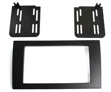 2002-2016 Audi A4 Aftermarket Double 2 DIN Dash Installatio Kit Trim Bezel Mount