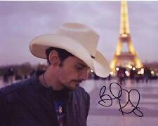 BRAD PAISLEY Signed Photo w/ Hologram COA