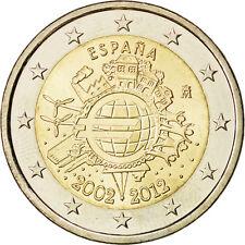 [#84978] Espagne, 2 Euro 10 ans de l'Euro 2012