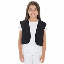 Black waistcoat for kids one size fits all.
