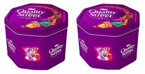 2x NESTLE QUALITY STREET 2900g - Schokolade - Pralinen - Konfekt -