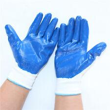 Garden Industrial Latex Gloves Nitrile Rubber Wear Skid Oil Resistant Housekeep