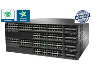 Cisco WS-C3650-48FD-S 1 Year Warranty and Free Ground Shipping