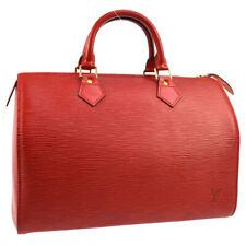LOUIS VUITTON SPEEDY 30 HAND BAG PURSE RED EPI LEATHER M43007 SP0948 JT09015