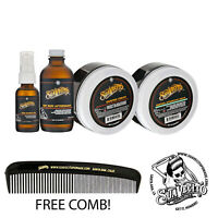 Suavecito Shave 4 PC Kit Pre-Shave Oil, Shave Cream, Bay Rum Aftershave & Cream