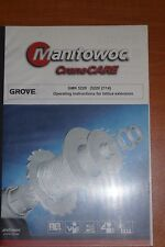 Manitowoc Crane Care Gmk 5200 (5200 2114) Operating Instructions for Lattice Ext