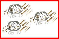 KR Carburetor Carb Rebuild Repair Kit x3 KAWASAKI Z KZ 1300 A 79-82 ... NEW