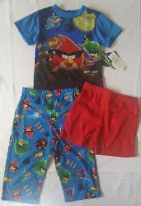 Pajamas Three Piece Set, Kid size 2, Angry Birds Space, Rovio Entertainment LTD.