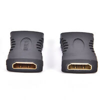 New HDMI Female to Female Coupler Extender Adapter Connector for HDTV HDCP _sDT