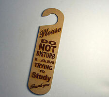 Do not disturb sign - I'm Trying to Study  #18
