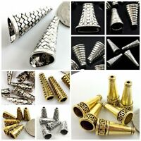 Cone Cap Beads Gold Silver Pewter Crafts Jewelry Making Findings End Caps 16mm
