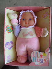 "NEW Berenguer Lil Hugs Vinyl Cloth Baby Girl  Doll in Box 11"" #3"