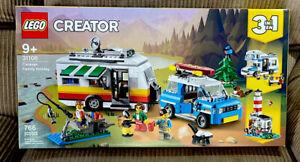 Lego Creator Caravan Family Holiday (31108) 3 in 1 Camper RV SUV 766 Pieces New