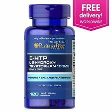 Puritan's Pride 5-HTP 100 mg (Griffonia Simplicifolia) - 120 Capsules