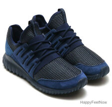ADIDAS ORIGINALS TUBULAR RADIAL MEN'S SHOES SIZE US 11 UK 10.5 NAVY BLUE S76722