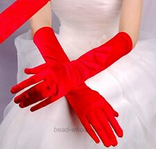 Women Satin Arm Hand Long Sleeve/Gloves Evening Party Opera Bridal Wedding