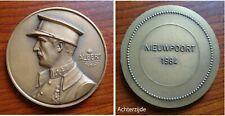 Medaille 40 jaar einde 2e wereldoorlog Nieuwpoort 1984
