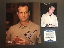 Bill Paxton Rare! signed Big Love 8x10 photo Beckett BAS Cert PROOF!