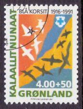 Birds Used Greenlandic Stamps