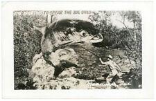 RPPC - Exaggeration, Huge Fish at Maniwaki, Quebec, Canada - 1952