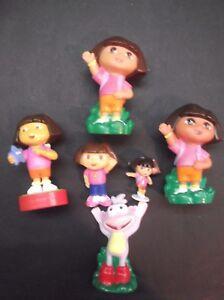 LOT 5 Vintage Mattel Figures DORA THE EXPLORER, BOOTS + ONE GIFT !!!