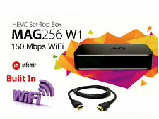 Genuine Mag 256w1 with Built In Wifi Iptv Set Top Tv Box By Infomir