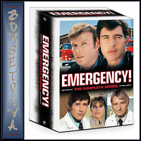 EMERGENCY - THE COMPLETE SERIES  **BRAND NEW DVD BOXSET*