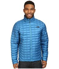 The North Face ThermoBall Men Jacket Full Zip Insulated Banff Blue XL New